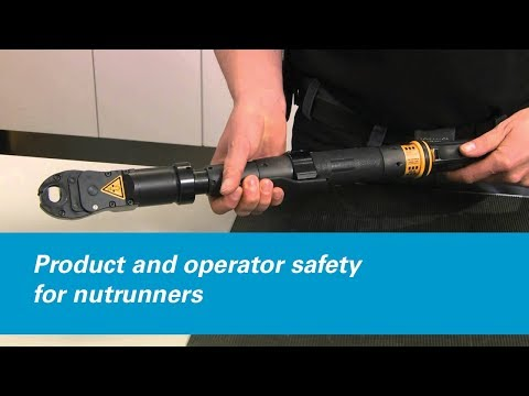 Atlas Copco: Product And Operator Safety For Nutrunners