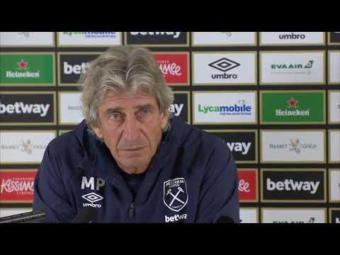 Manuel Pellegrini Press Conference Liverpool v West Ham