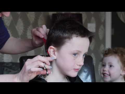 Violet Carpenter's Charity Hair Shave
