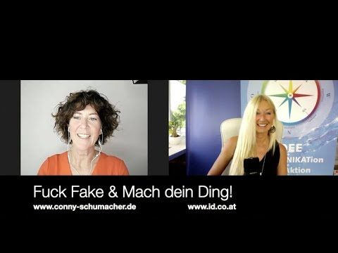 Fuck Fake & Mach dein Ding! Conny Schumacher im Gespräch mit Yvonne van Dyck