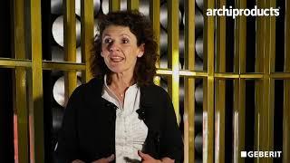 Fuorisalone 2019 | GEBERIT - Silvia Del Vitto presenta Acquaclean Sela e Sigma 50