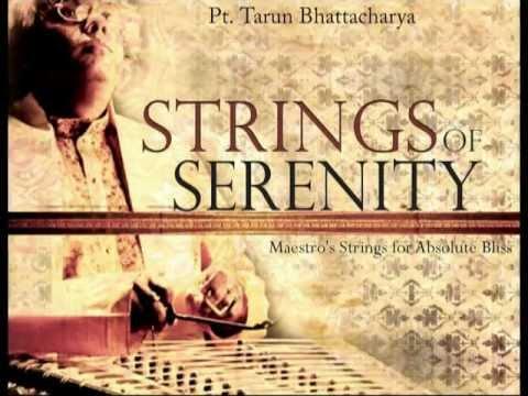Blissful Santoor Instrumental-Bhatiyali Dhun-Bengali Folk by Pt. Tarun Bhattacharya (Longer Version)