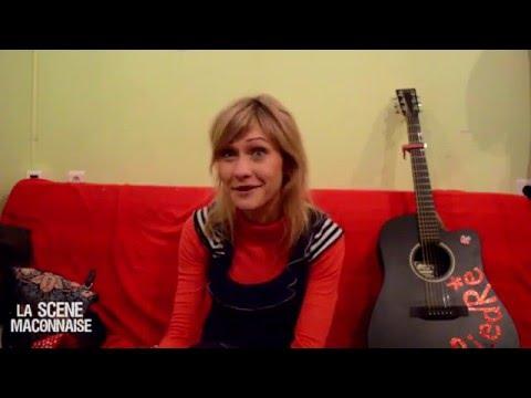 Interview Giédré @ La Tannerie 2016
