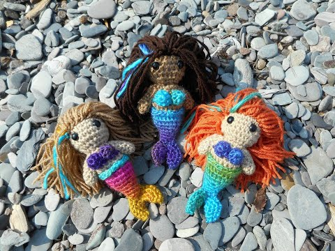Mermaid Amigurumi Crochet Tutorial