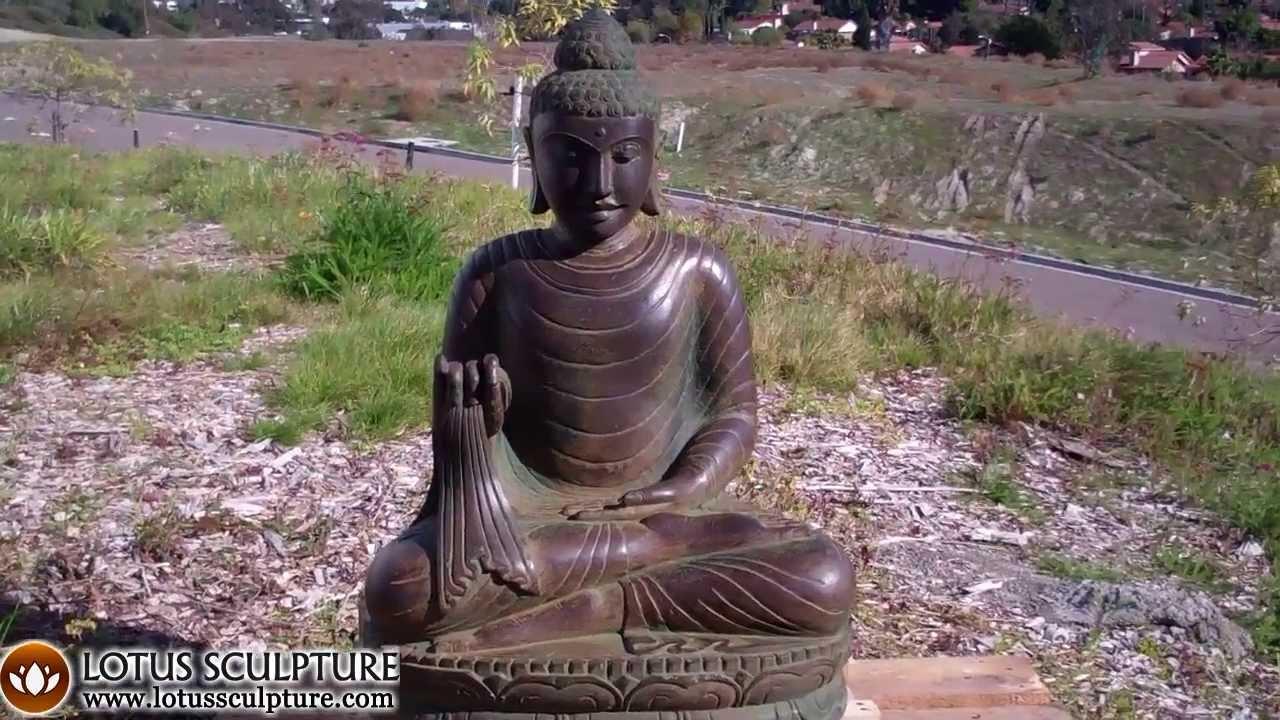 Gautama Buddha Statue Diety. Garden Buddha Sculpture   YouTube