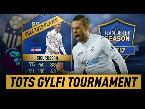 TOTS TOURNAMENT STREAM - GYLFI SIGURDSSON TOTS PRIZE - FIFA 17