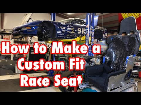 How To Make A Custom Foam Insert For A Race Seat