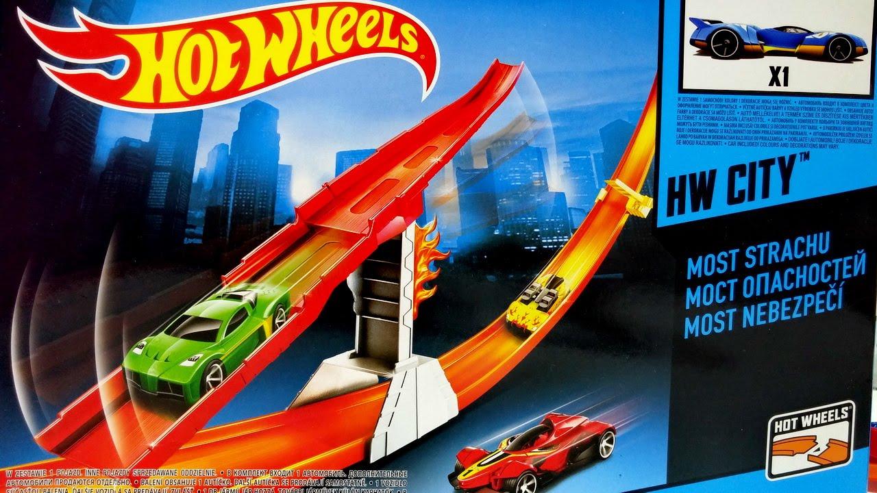 6bb63ff5c1c4d Hot Wheels City Danger Bridge ☆ For Kids Worldwide - YouTube