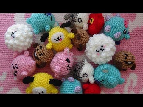 BT21 Mang Plush ♥ Crochet Pattern | Häkelanleitung, Häkelarbeiten ... | 360x480