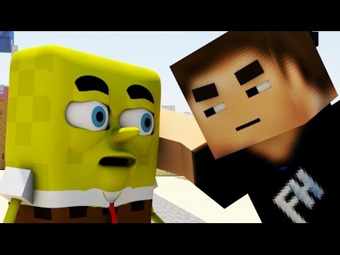 """SPONGEBOB IS IN MINECRAFT 2"" - 3D Animation"