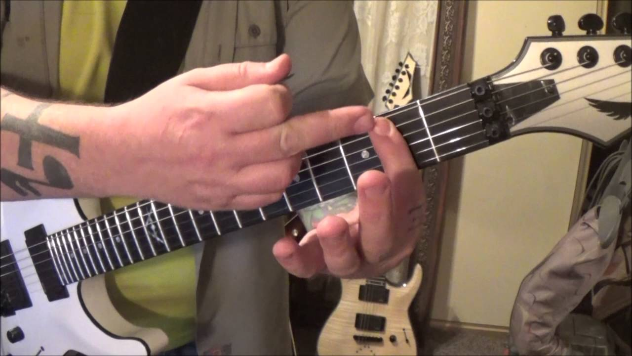 Cutting Crew I Just Died In Your Arms Guitar Lesson By Mike