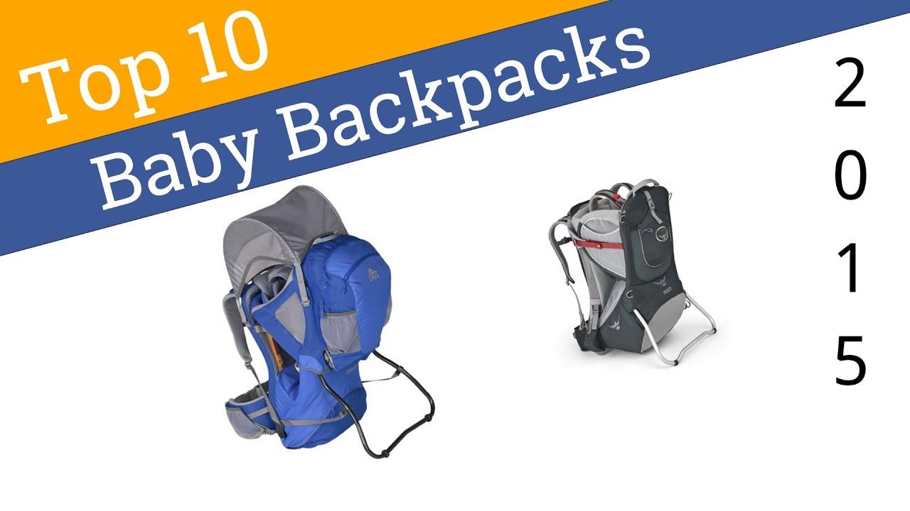10 Best Baby Backpacks 2015