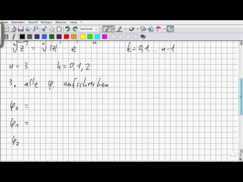 FK20103 Potenzieren komplexer Zahlen from YouTube · Duration:  8 minutes 59 seconds