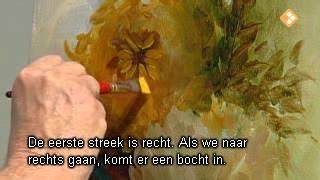 Видеоурок Гарри Дженкинса . Хризантемы.