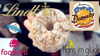 CHEATDAY WITH A BODYBUILDER | CUSTOM MADE DONUTS