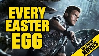 JURASSIC WORLD - Every Easter Egg & Reference