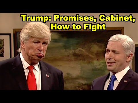 Trump: Promises, Cabinet, How to Fight - Alec Baldwin, Mike Pence & MORE! LV Sunday Clip Roundup 187