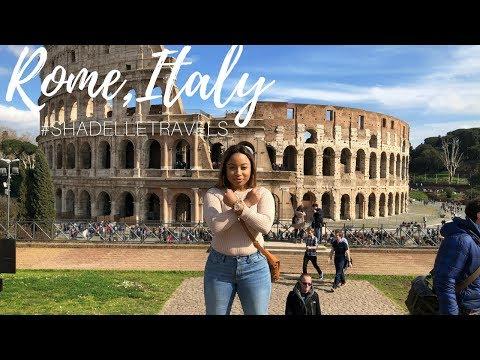 VLOG: Rome, Italy + Birthday Blues + ENGAGEMENT? #SHADELLETRAVELS
