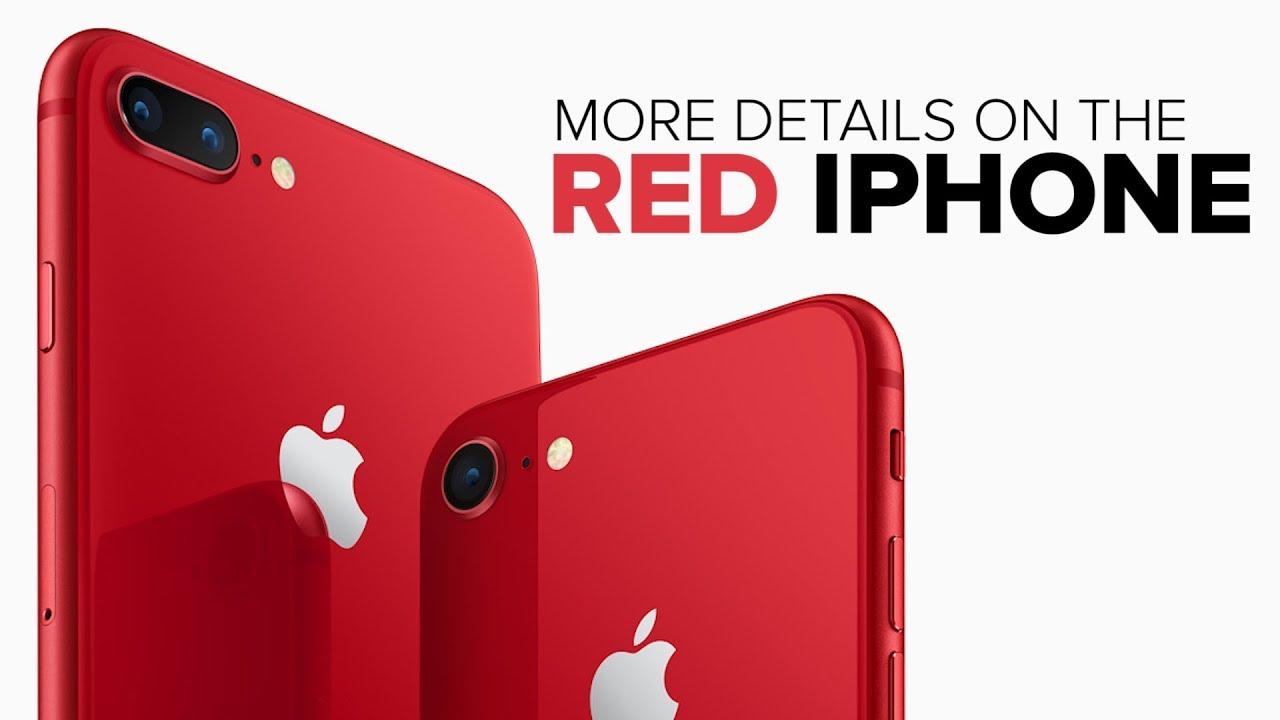 Apple's red iPhone 8 arrives April 13 (CNET News)