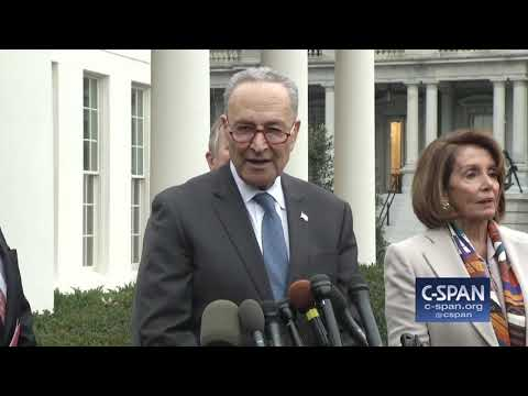 Word for Word: Pres. Trump, Congressional Leaders Meet, Government Shutdown Continues (C-SPAN)