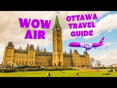 WOW air travel guide application