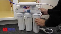 """Reverse Osmosis Installation """"How To"""" - US Water Systems"""