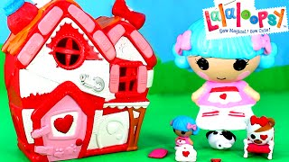 Lalaloopsy Rosy Bumps N Bruises Pet Hospital with Crumbs Sugar Cookie - Toy Review
