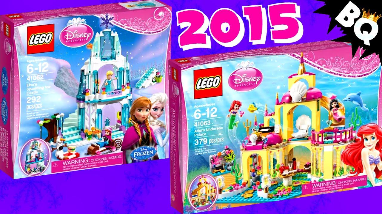 2015 Lego Disney Princess Set Pictures Revealed Youtube