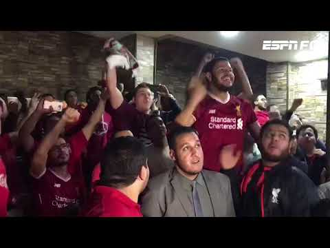 Egyptian Liverpool fans react to Mohamed Salah's goals against Roma