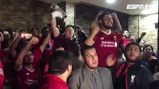 Egyptian Liverpool fans react to Mohamed Salah's goals against Roma