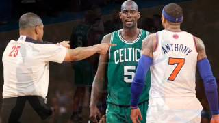 the truth behind the Carmelo Anthony and Kevin Garnett beef
