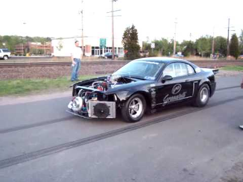 1700hp mustang spooling turbo youtube