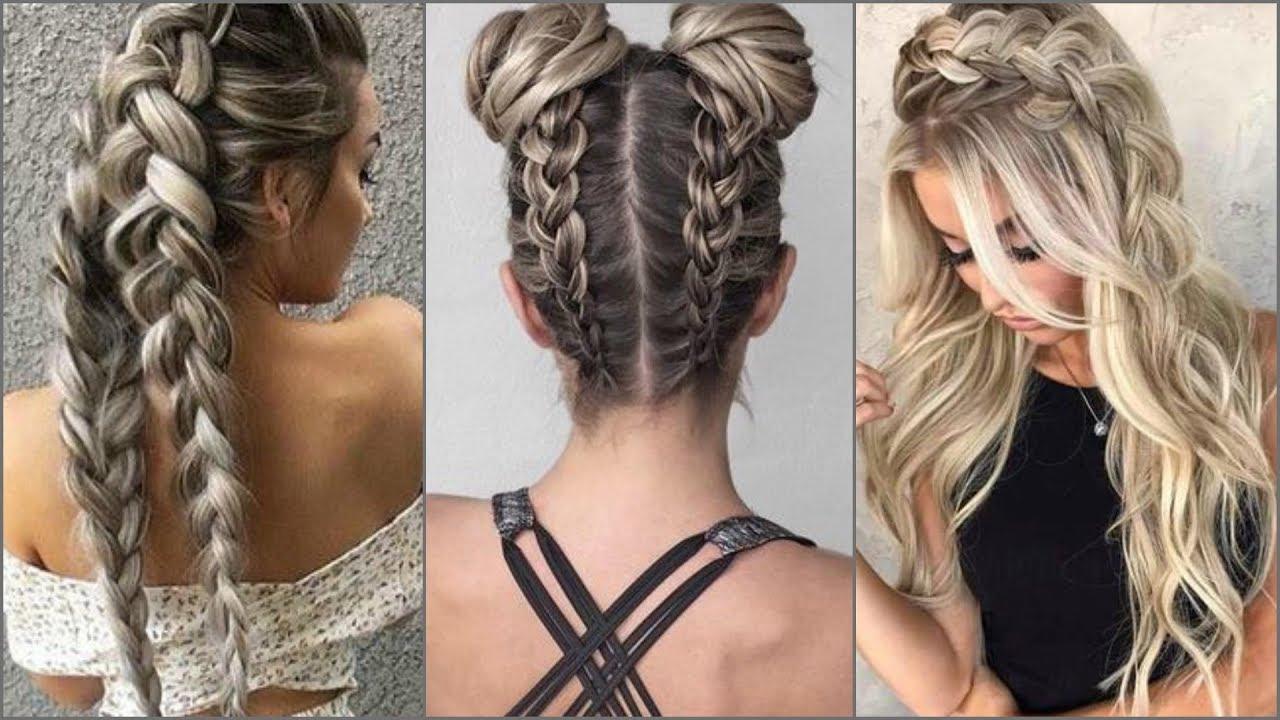 Peinados De Moda 2017 Moda Emdesign Youtube