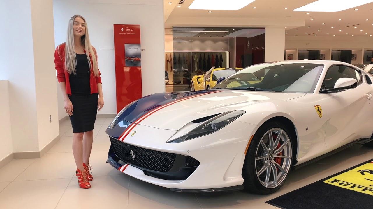 Ferrari 812 Superfast Unique Tailor Made Spec Youtube