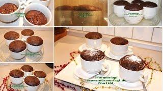 Mikrodalga firinda Fincan Kek tarifi bardakta kek nasil yapilir