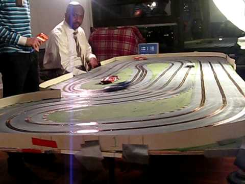 Slot Car Racing with the New York Team Manhattan Track