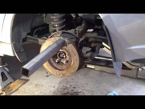 "Homemade ""Hub Shocker"" tool for Subaru Wheel Bearing Assembly (Legacy, WRX, Forester, Outback)"