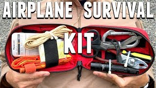 Airplane Survival EDC Kit - TSA Compliant
