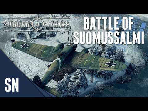 Battle of Suomussalmi! - Sudden strike 4 - Finnish Campaign #1 [SOVIET]