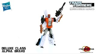 Video Review of the Transformers Combiner Wars: Deluxe Class Alpha Bravo