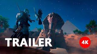 Assassin's Creed: Origins - Mysteries of Egypt Trailer E3 2017 4K