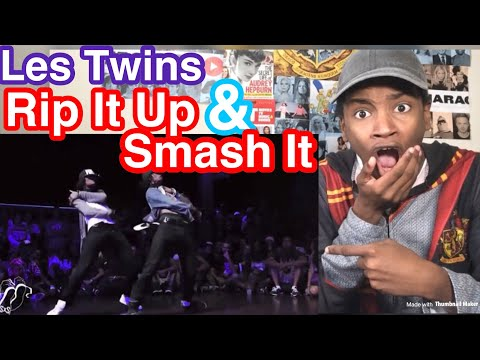 Les Twins- Rip It Up & Smash It Reaction