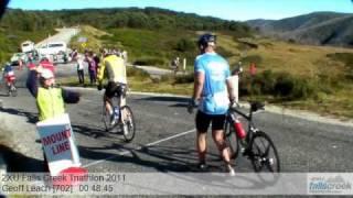 Geoff Leach 702 2XU Falls Creek Triathlon 2011