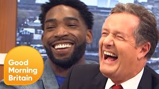 Tinie Tempah Has His Temper tested... by Piers! | Good Morning Britain