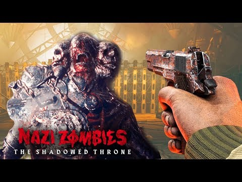 WW2 ZOMBIES: THE SHADOWED THRONE BOSS FIGHT EASTER EGG FINALE! (COD WW2 Zombies)