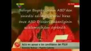 Hugo Chavez'in ABD elçisini kovduğu efsane konuşma