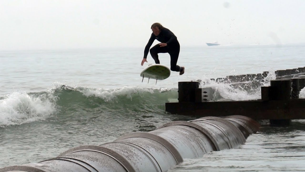 Big Dog Pipe Jump in New Jersey!