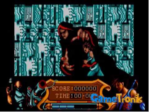 Strider intro - You Dare Fight Me - Atari ST