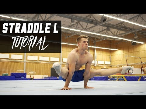 Straddle L-sit Progressions Ι Tutorial For The Straddle L