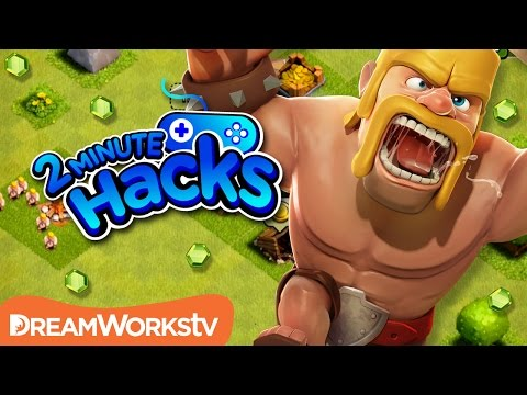 How to Get Gems & Gold in Clash of Clans | 2 MINUTE HACKS